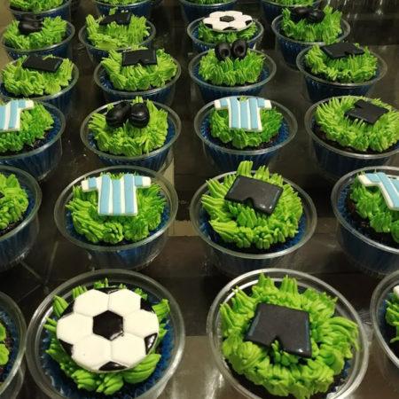 Cupcakes-Futbol