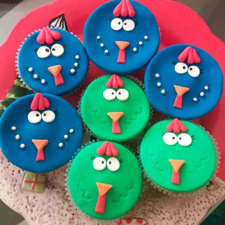 Cupcakes-Gallina-Pintadita