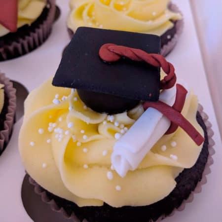 Cupcakes Graduacion Hombre con Birrete