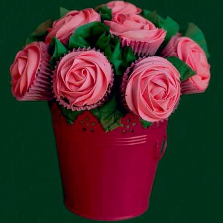Cupcakes-Maceta