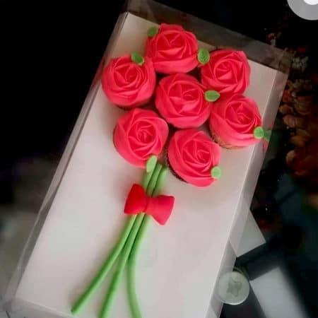 Cupcakes-Ramo-Rosas