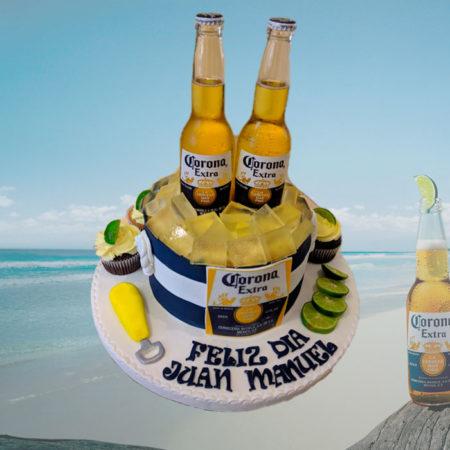 Torta-Cerveza-Corona