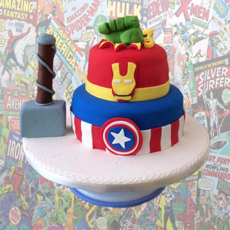 Torta-Marvel-Avengers