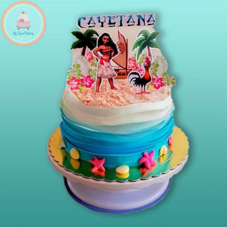 Torta-Moana-Disney
