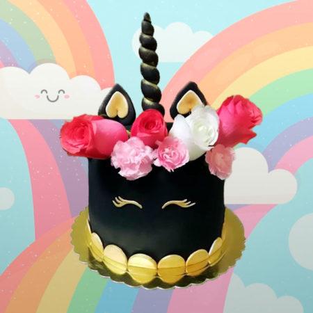 Torta-Unicornio-Negro