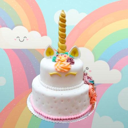 Torta-Unicornio-dos-pisos