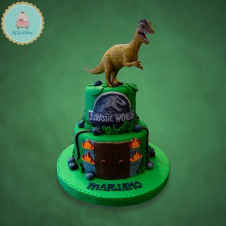 Torta-Hurassic-World