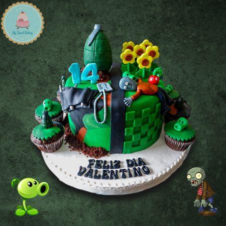 Torta_Plantas_Vs_Zombies