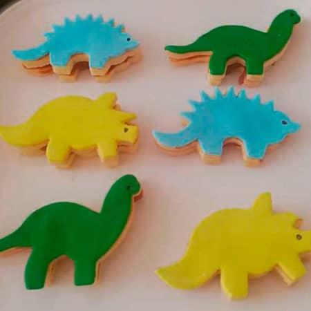 Galletas-Dinosaurio
