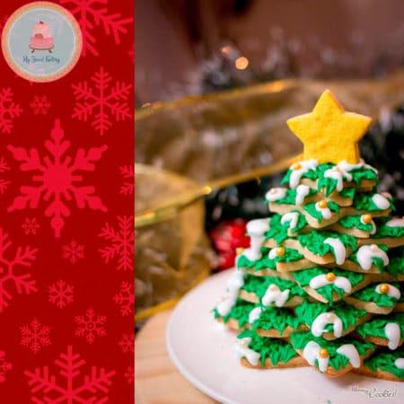 Arbol Galletas de Navidad