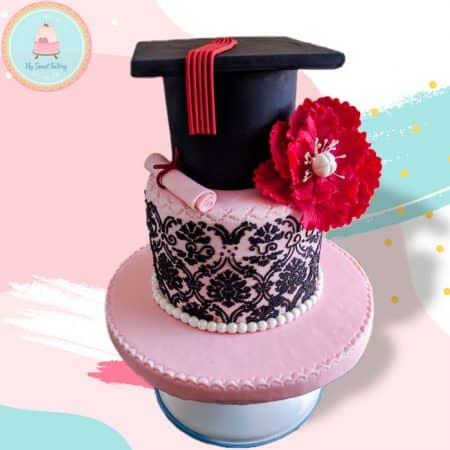 Torta-Graduacion-Flor